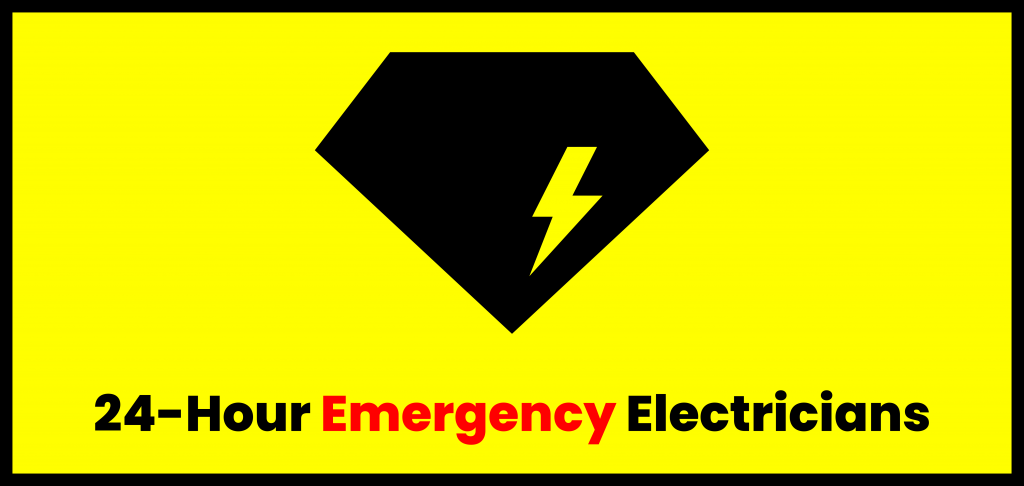 24-hour emergency electricians banner