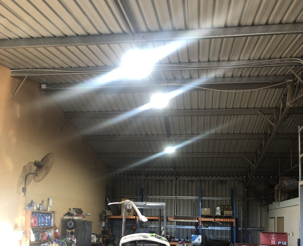 Commercial shed lights