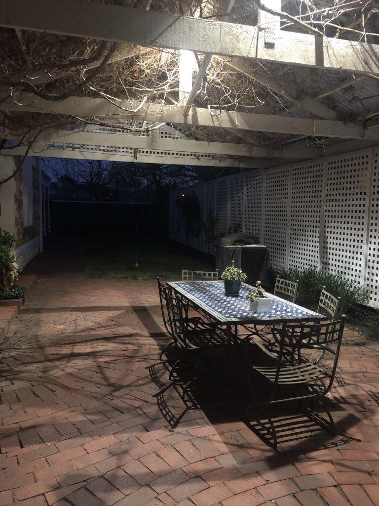 Veranda lighting