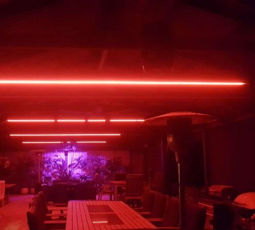 Red Outdoor Lighting
