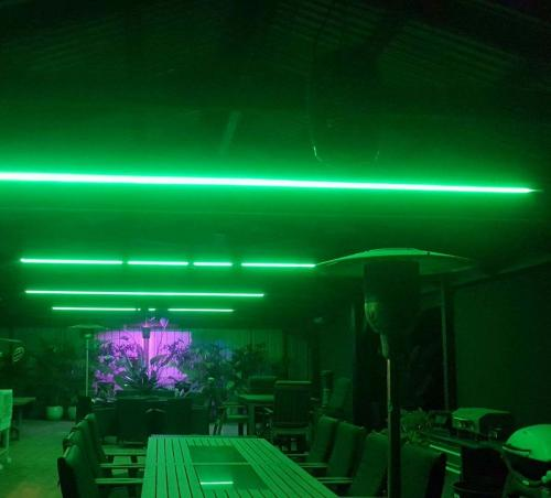 Green Outdoor Lighting