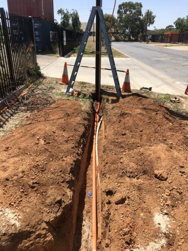 adelaide underground wiring