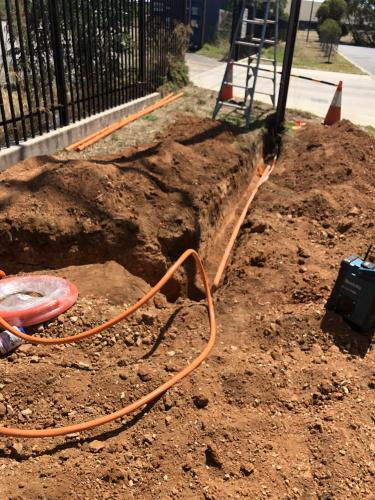 electrician underground wiring adelaide