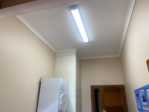 Laundry room LED Installation
